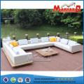 Modern Outdoor Upholstered Fabric Sofa Set