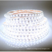 Navidad decorativa 5730 smd dimmable flexible tira de luz LED 220V