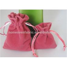 Bolsa de regalo de alta calidad de joyería de terciopelo bolsa