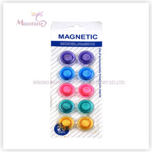Dia. 2cm 10PCS Stationery Magenet, Memo Office Magnet for Whiteboard, Fridge