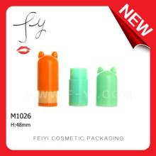 Mini Casper Plastic Lip Balm Containers