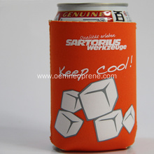 Waterproof Logo printed Neoprene Can Coolers