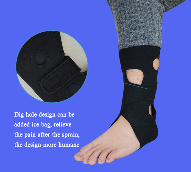 Ankle Stabilizer With Ice Pack