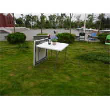 87cm наружная мебель из пластиковой складной таблицы для частичного использования