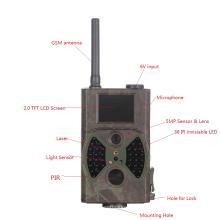 Антенна камера 12mp инфракрасного ночного видения Охота камера GSM MMS-сообщения GPRS по электронной почте/SMS черный ИК