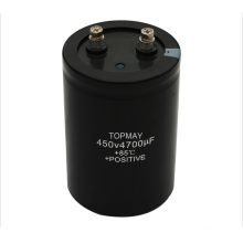 Screw Terminal Aluminum Electrolytic Capacitor 4700UF