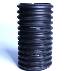 HDPE Black Corrugated Corrugated Pipe Drip Irrigation Pipe
