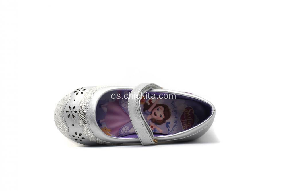 Laser Design Girls Ballerinas Disney Shoes