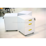 Polyester Powder Coated Movable Cabinet for Office