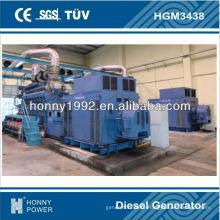Grupo gerador de 3125KVA Googol 60Hz, HGM3438, 1800RPM