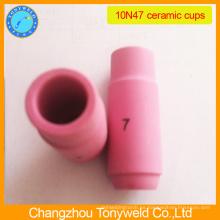 10N47 boquilla de cerámica para la antorcha tig