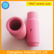10N47 ceramic nozzle for tig torch