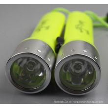 Online-Shop Weitwinkel Tauchen Fackel 50M Unterwasser 500LM XM-L T6 LED Wasserdichte Tauchen Taschenlampe 18650