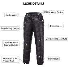 Pantalones cálidos de invierno para uso general
