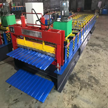 Low Power Color Steel Roll Forming Machine