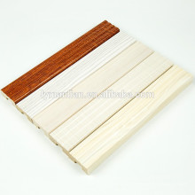 Papel de melamina recon molduras de madeira