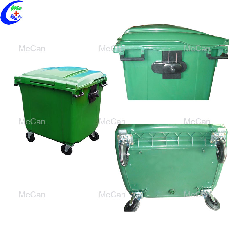 Outdoor mobile dustbin