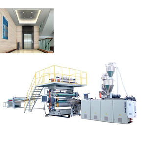 Papan Dinding Decorated PVC sheet Extrusion Line