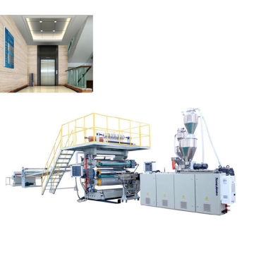 Wallboard Decorated sheet PVC Extrusion Line