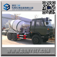Dongfeng Cummins Engine 2 M3 All Wheel Drive Mixer Truck