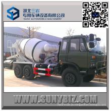 Dongfeng CUMMINS Engine 2 M3 todo o caminhão do misturador da movimentação da roda