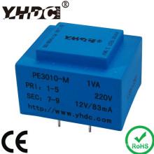 1VA 220V 12V ac power transformer / EI transformer