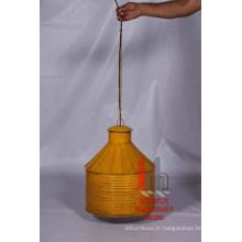 Lampe suspendue jaune