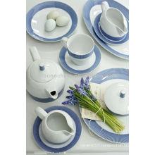 royal copenhagen meissen style earthenware stoneware porcelain ceramic tea set