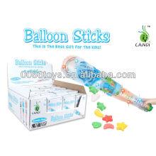 Balão brinquedos de vara doces