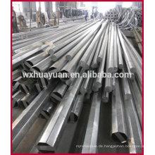 Achteckige galvanisierte Stahl-Elektro-Pole