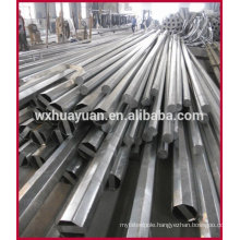 octagonal galvanized steel electrical poles