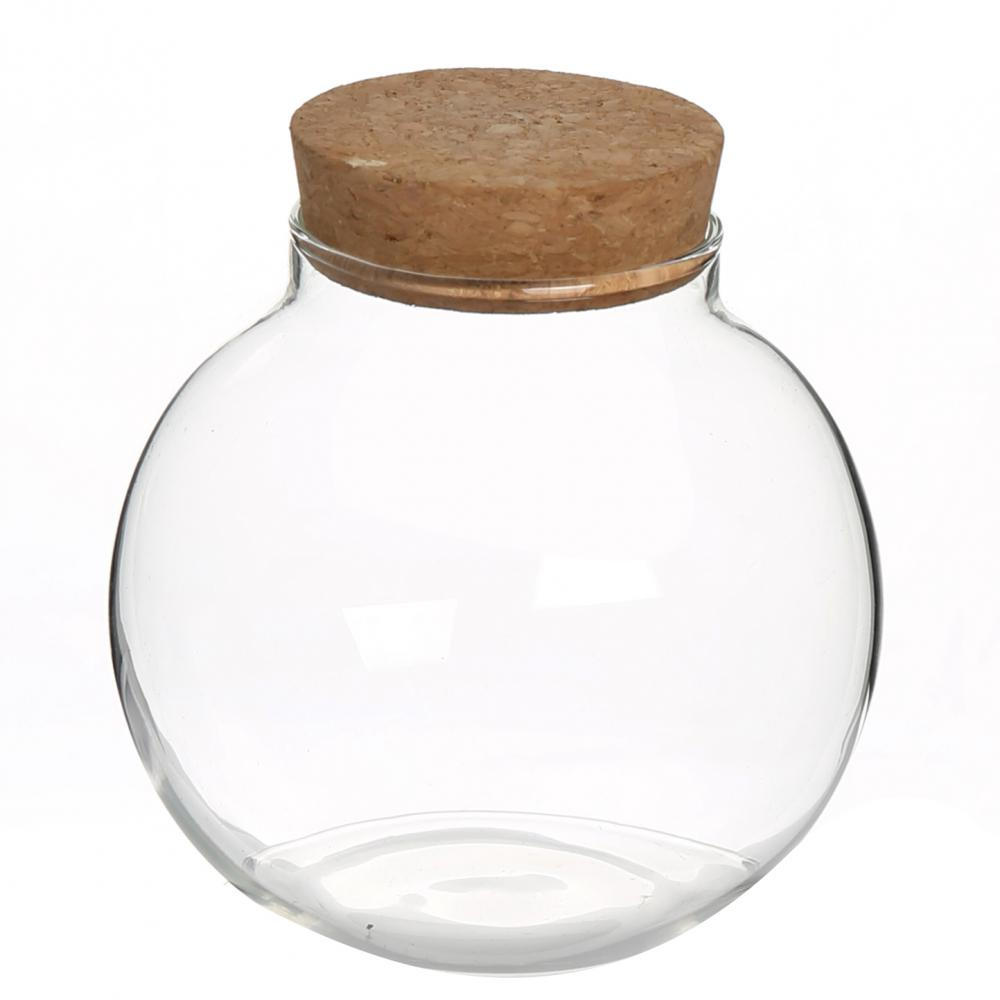 Heat resistant food jar glass