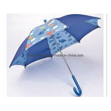 Blue Stitching Calico: Child Umbrella