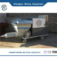 Cement mortar spraying machine Cement sand mixed wet material pneumatic sprayer