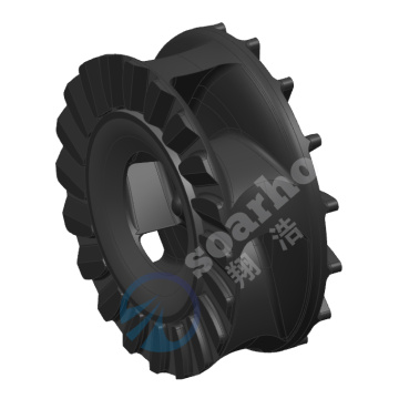 Rubber Impeller Of Slurry Pump