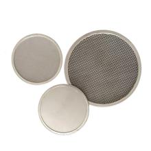 Feuille de disque de maille de filtre de maille d'acier inoxydable 304