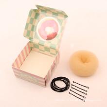 Kit de bolo de rosca de cabelo loiro (BUN-38)