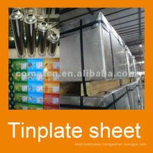 electrical tinplate with 2.8/5.6 tinning for food can usage