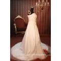 EN STOCK Robe de mariée hors-épaule Robe sans manches Robes de mariée sur pied de sol SW121