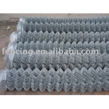 Gal. or PVC Coated of Chain Link Fence used in playground football ground