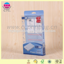 Подгонянный плоский пакет электронных пластиковой коробке упаковки