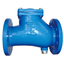 DIN 3202 F6 Double Flange Rubber Disc Swing Check Valve