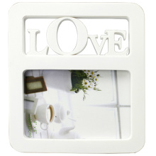 White Popular Plastic Photo Frame Love For Gifts