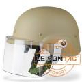 Tactical Riot Helmet com ABS Material de forte vibração-prova