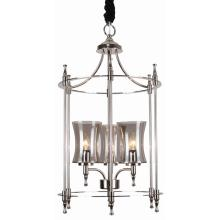 Iron Pendant Lighting, Nickel Finish, for Home Design Styles (SL2247-3)