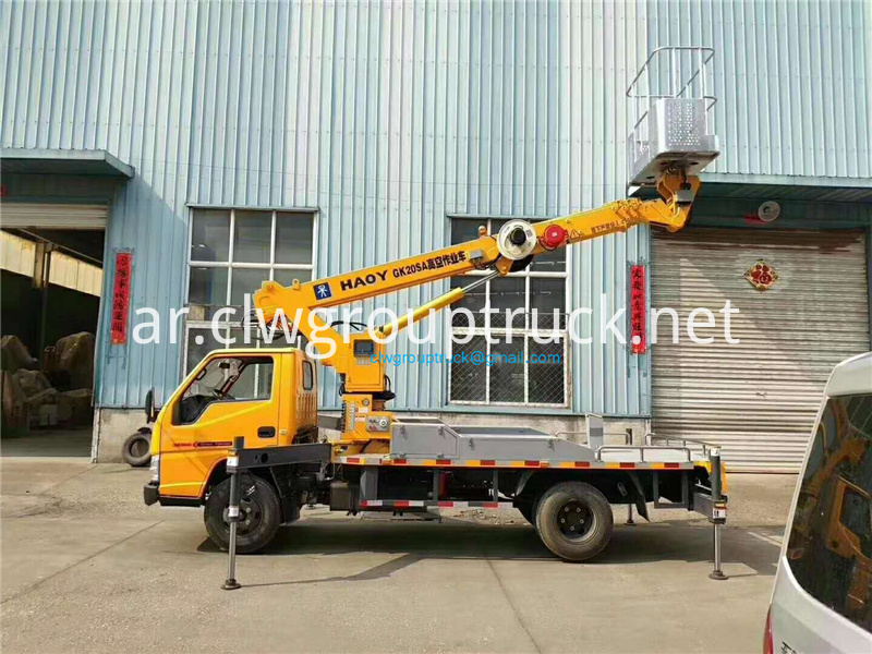 20 M Straight Arm Telescopic Aerial Work Vehicle 5