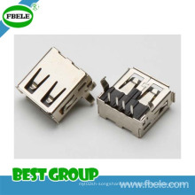 USB/a Type/Receptacle/Single/DIP 90