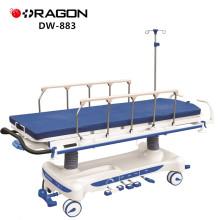 DW-883-Krankenhaus-justierbarer Aufstiegs-und Fall-Hydraulikpumpe-Bahren-Wagen