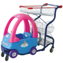 Beautiful and bright color mini shopping cart for kids/mini grocery shopping cart/Kids shopping cart