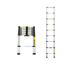 3.8m Portable Aluminum Stairs Telescopic Lightweight Ladder